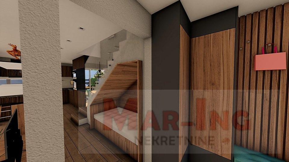VRSI MULO trosobni apartman na dvije etaže