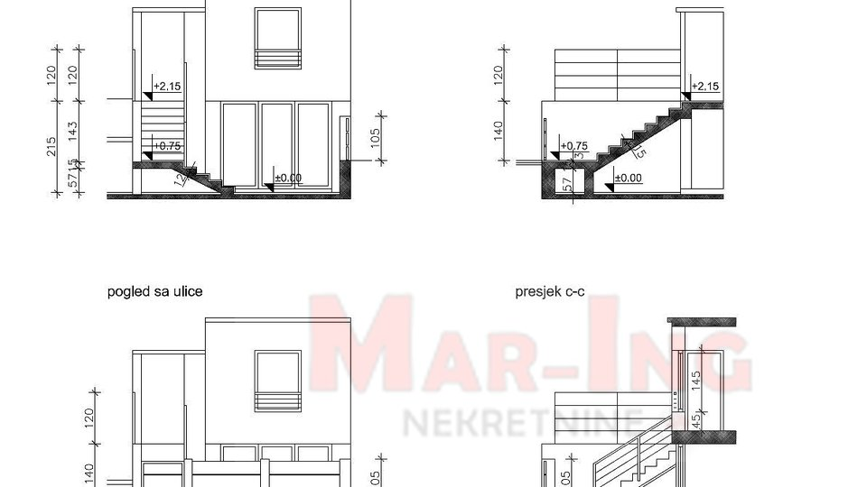 Terraced house for sale in Biograd na Moru