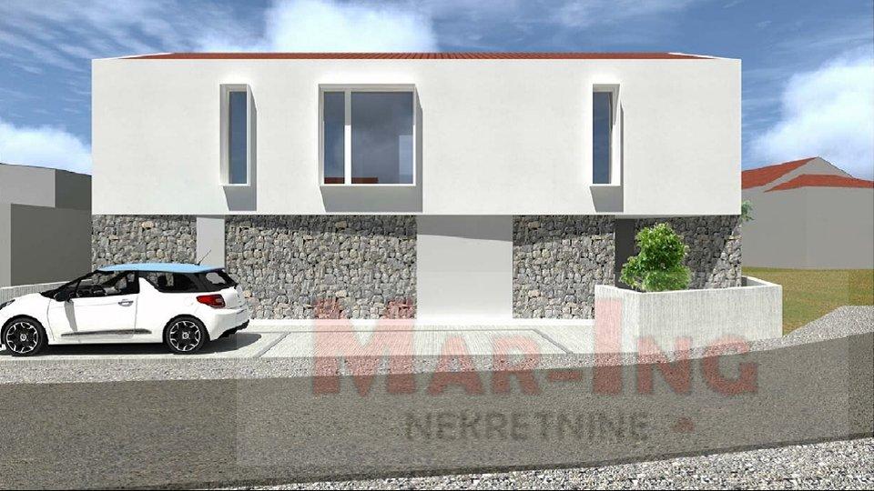 NIN - građevinska dozvola za obiteljsku kuću sa 2 stana